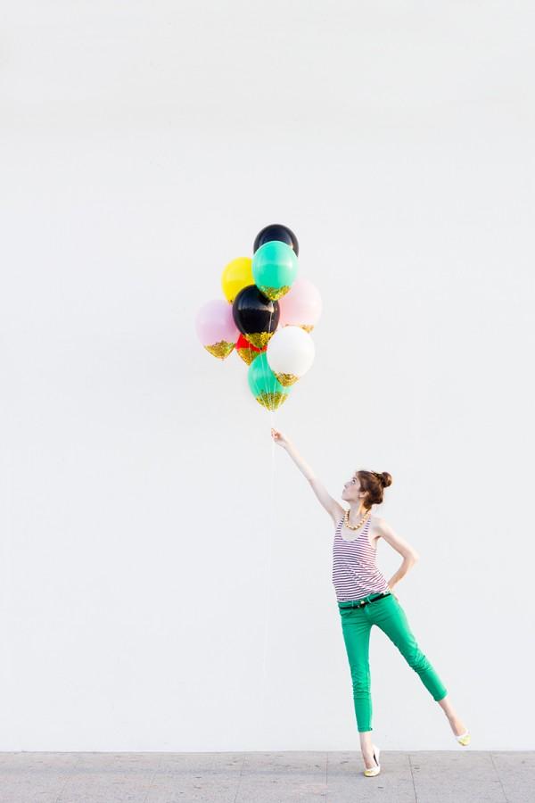Emporio festas o site aonde voc encontrar tudo de mais for Confetti dipped balloons